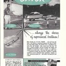 1958 Peterson Gator Boat Trailers Ad- Nice Photo