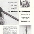 1958 TV Personality Garry Moore & His Yacht Red Wing Article & Nice Photos
