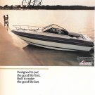 1986 Century Boat Company Color Ad- Great Photo