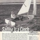 1962 O'Day Javelin Sailboat Ad- Nice Photo