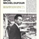 1972 Michel Dufour Yacht Builder Article & Photos