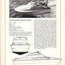 1972 Fjord 21' Boat Review & Specs- Photo & Drawing