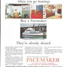 1966 Pacemaker 34' Sedan Yacht Color Ad- Photo