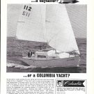 1966 Columbia Daysailer Yacht Ad- Nice Photo