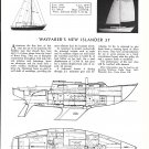 1966 Wayfarer New Islander 37 Yacht Review & Specs- Drawings