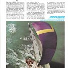 1971 Jensen Marine Cal 39 Yacht Color Ad- Nice Photo