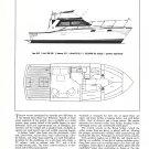 1971 Trojan 36 Yacht Review & Specs- Drawings