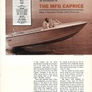 1968 MFG Caprice 18 1/2 Boat Review & Specs- Nice Photos