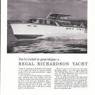 1962 Richardson Boat Company Ad- Nice Photo