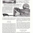 1960 Lyman Boat Works Ad- Photo of 16' &24' Boats