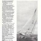 1974 Fuji 35 Yacht Ad- Nice Photo