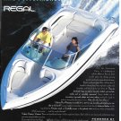 1996 Regal Boat Color Ad- Great Photo