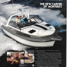 1984 Carver Monterey 29' Boat Color Ad- Nice Photo