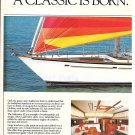1984 Gulfstar Sailmaster 62 Yacht 2 Page Color Ad- Specs & Great Photo
