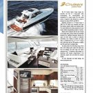 2011 Cruisers Yachts 48 Cantius Sports Coupe Review & Specs- Nice Photos