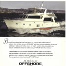 2010 Offshore Voyager 64' Yacht Color Ad- Nice Photo