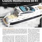 2010 Cranchi Mediterranee 50 HT Yacht Review- Specs & Nice Photos