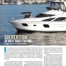 2012 Silverton 40 West Coast Edition Yacht Review- Specs & Nice Photos
