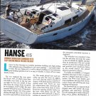 2013 Hanse 415 Yacht Review- Specs & Nice Photos