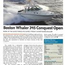 2011 Boston Whaler 345 Conquest Open Boat Review- Specs & Nice Photo