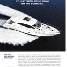 2009 Maritimo C60 Sports Cabriolet Yacht Color Ad- Nice Photo