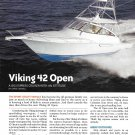2011 Viking 42 Open Yacht Review- Specs & Nice Photos