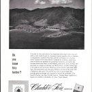 1958 Chubb Insurance Ad- Great Photo Lameshur, St. John, Virgin Islands