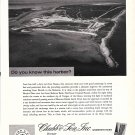 1967 Chubb Insurance Ad- Great Photo Chub Cay, Virgin Islands