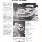 1973 Bertram 46' Yacht Ad- Nice Photo