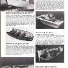 1973 Hatteras- IMP- Thompson- Starcraft- Mark Twain New Boats Ad- Photos