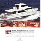 2007 Hampton 740 Yacht Fisher Boat Color Ad- Nice Photos