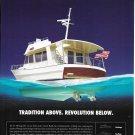 2007 Grand Banks 41 Heritage EU Yacht Color Ad- Nice Drawing