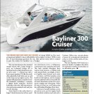 2007 Bayliner 300 Cruiser Boat Review & Specs- Nice Photo