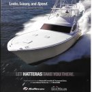 2007 Hatteras 60 Convertible GT Tournament Edition Boat Color Ad-Nice Photo