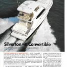 2003 Silverton 48 Convertible Yacht Review & Specs- Nice Photos