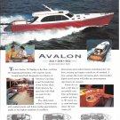 2003 Avalon 50 Yacht Color Ad- Nice Photos