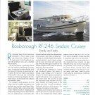 2007 Rosborough RF-246 Sedan Cruiser Review & Specs- Nice Photos