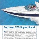 2004 Formula 370 Super Sport Yacht Review & Specs- Nice Photos