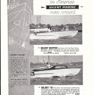 1960 Solent Marine LTD Ad- Nice Photo of 16' & Skipper Boats