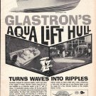 1963 Glastron Boat Co Ad- Nice Photo of 3 Models