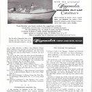 1958 Wagemaker Catalina Boat Ad- Nice Photo