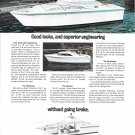 1973 Pacemaker 28' Yacht Color Ad- Nice Photo