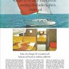 1969 O'Day Ranger 26 Sailboat Color Ad- Nice Photos