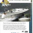 1997 Doral 300 SC Boat Color Ad- Nice Photo