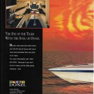 1994 Donzi Marine Donzi 38ZX Boat 2 Page Color Ad- Nice Photo