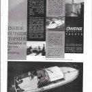 1960 Owens 35' Express Yacht Ad- Nice Photo