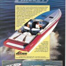 1998 Hallett 40-T Boat Color Ad- Great Photo