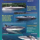 1998 Commander Boats Color Ad- Nice Photos of 5 Models