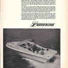 1969 Silverline Eldorado Boat Ad- Nice Photo