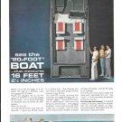 1964 Evinrude Sport 16 Boat Color Ad- Nice Photo